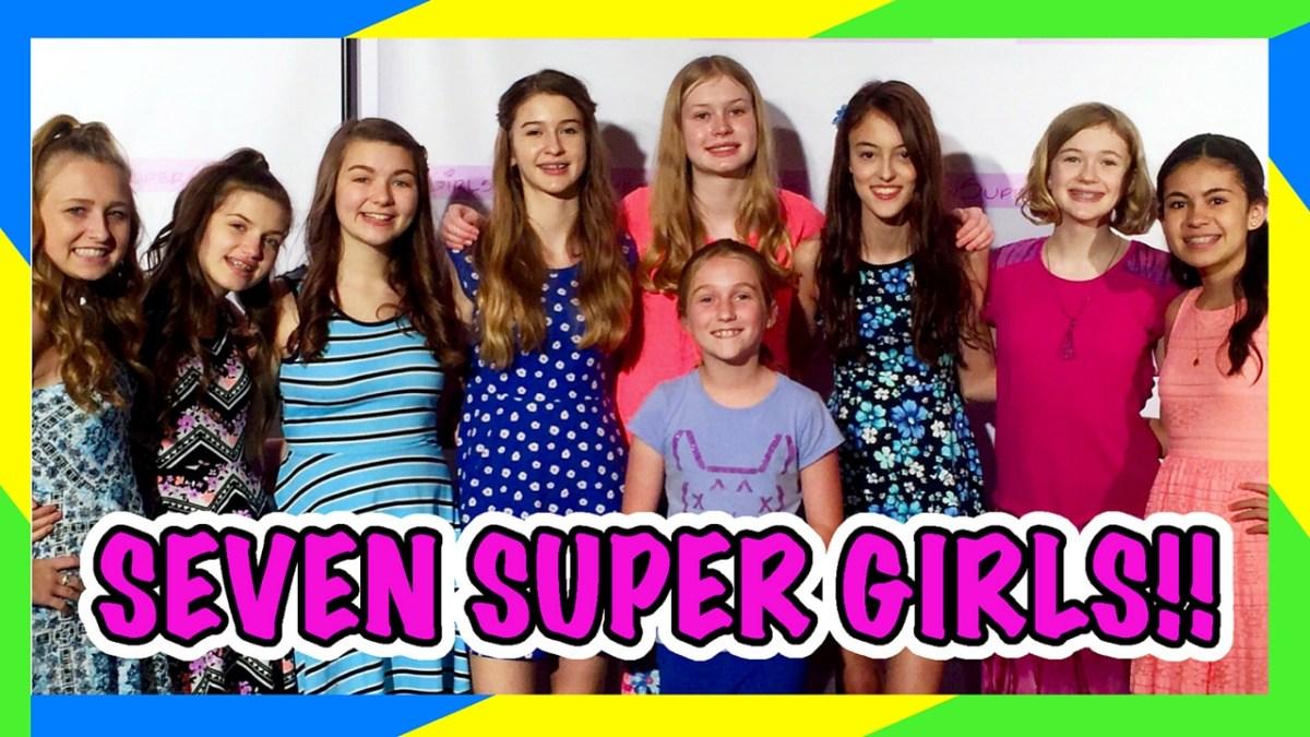Seven Super Girls!