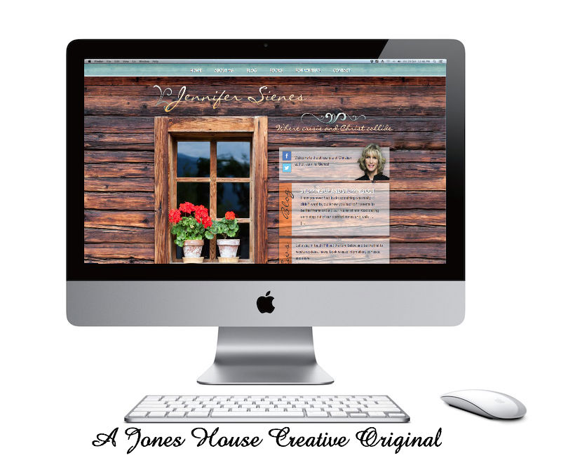 JenniferSienes.com from Jones House Creative