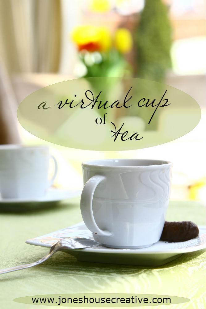 A Virtual Cup of Tea from Jones House Creative