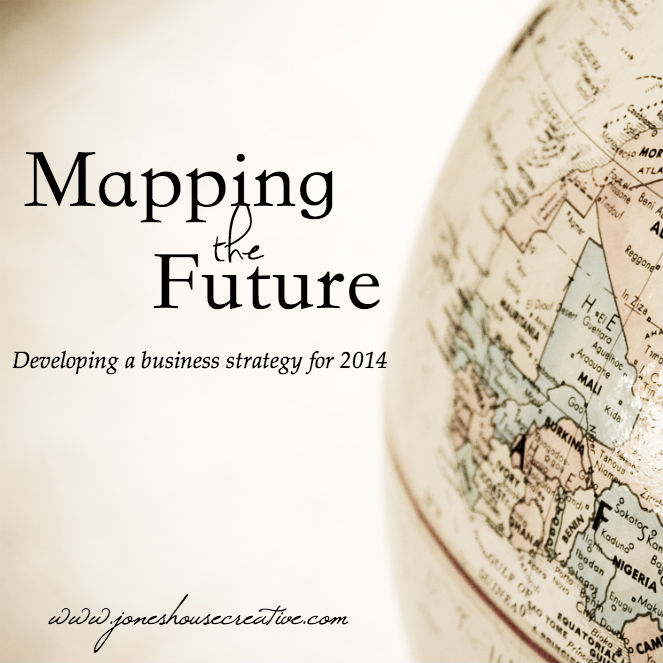 Mapping the Future - a business strategy from Jones House Creative