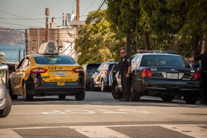 Policier à San Francisco