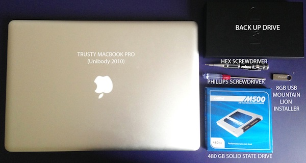 how to grade ssd on macbook pro