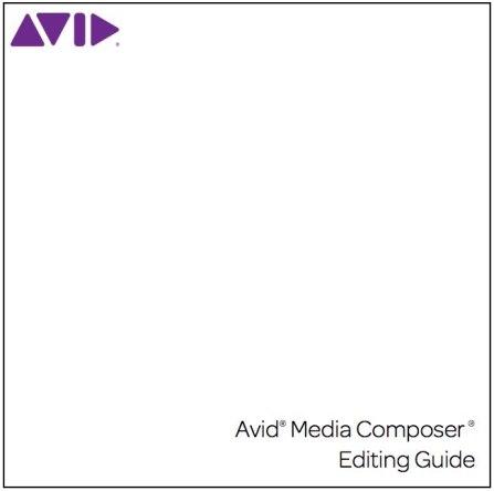 avid media composer manuals