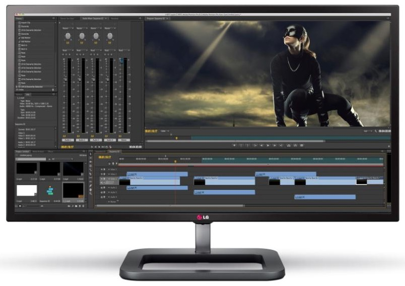 4K video Editing monitors