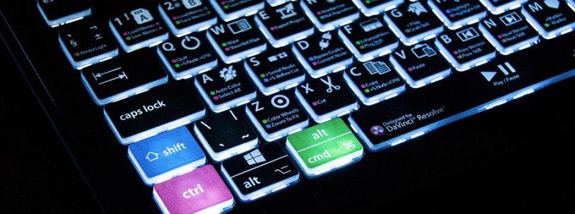 Davinci Resolve backlit keyboard review