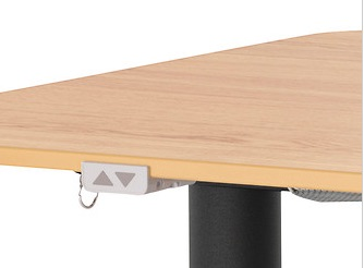 bekant sit stand controls
