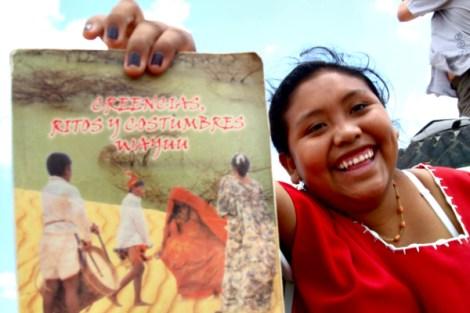 Mache, indígena Wayúu que me dio una lección de felicidad hace unos años