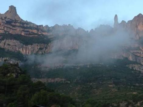 Montserrat in the morning
