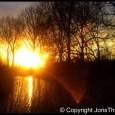 Een zeer mooie zonsondergang aan de rand van Amsterdam! Tweet