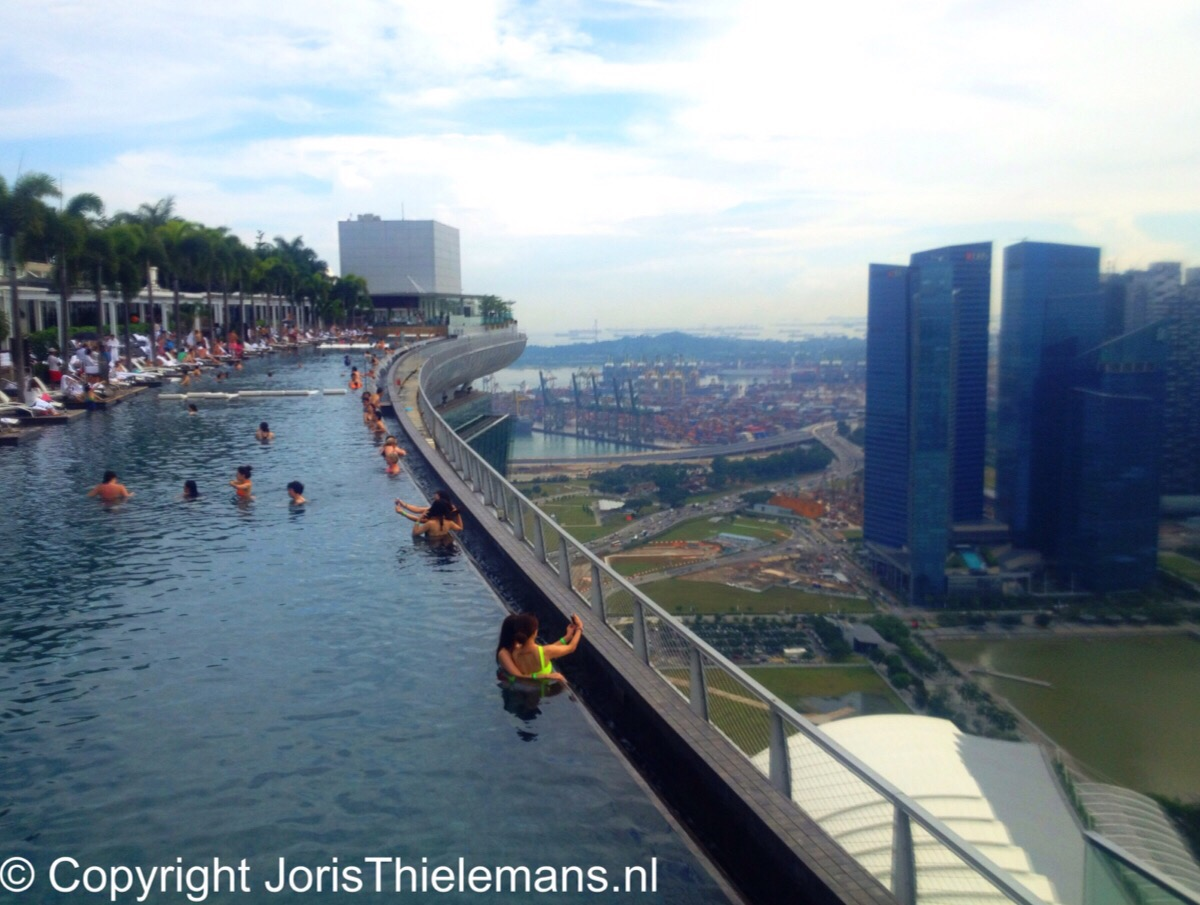 The Marina Bay Sands Swimming Pool Singapore Joris Thielemans