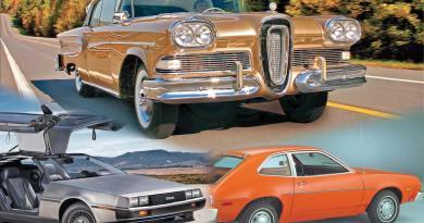 As 10 maiores derrapadas da indústria automobilística