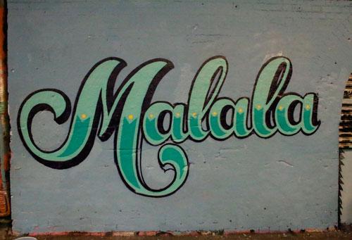 malala-grafite