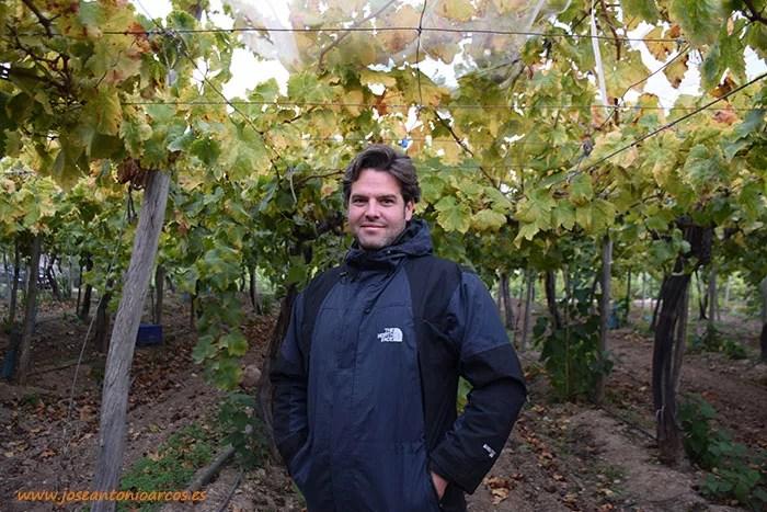 Juan Antonio Cazorla, productor ecológico de limón y uva.