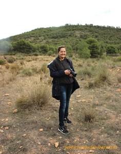 Ana Rubio en Sierra Espuña, Murcia.