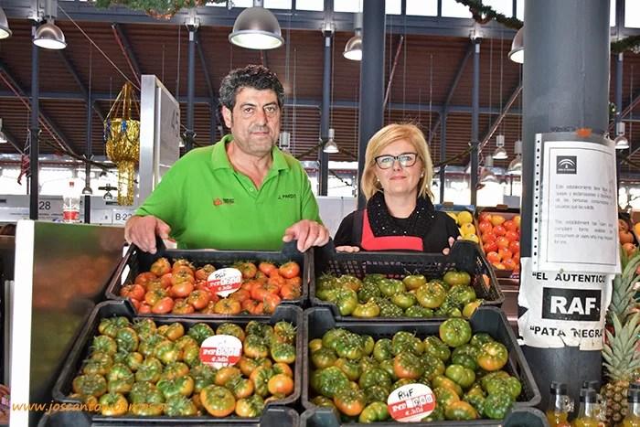 Frutas Pardo en el Mercado Central de Almería.