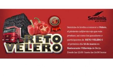Día 16 de marzo. Jornada de pimiento california rojo 'Reto Velero' de Seminis