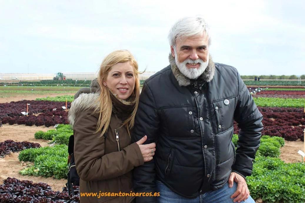 José Marín y Carmen Ventura. Portagrano XVI