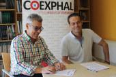 Coexphal y Asprodesa firman por la integración laboral de discapacitados