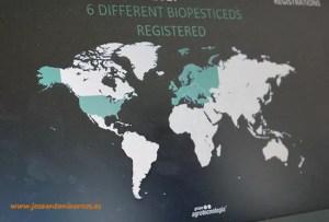El Grupo Agrotecnología en el mundo.