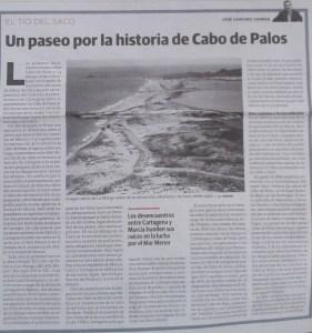 """""""Un paseo por la historia de Cabo de Palos"""""""