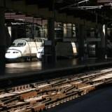 Por los andenes de la Estación de Atocha
