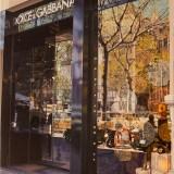 Tienda Dolce Gabbana en Paseo de Gracia, Barcelona