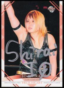 Io Shirai Autograph Card