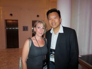 with Shannon Raab (Suspense Magazine)