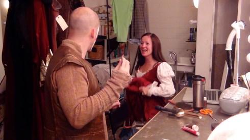 2011: onset at Pawn video shoot