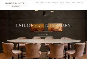 House and Hotel interiors website