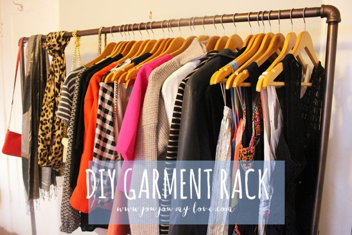 DIY-clothing-rack-closet-space-saving-ideas