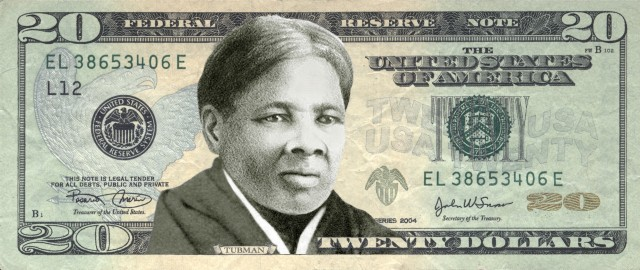 Harriet Tubman Tubman would be the first woman honored on paper currency since Martha Washington's portrait briefly graced the $1 silver certificate in the late 19th century. (Credit: Women on 20s)