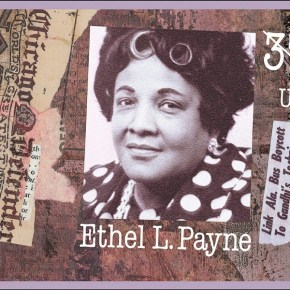 The U.S. Postal Service issued an Ethel Payne stamp in 2002 in a series on four female journalists.
