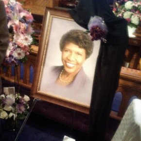 Political journalists, sorority sisters, public officials, reporting colleagues, fellow churchgoers and self-described ordinary people gathered Friday night to honor Gwen Ifill. (Credit: Richard Prince)