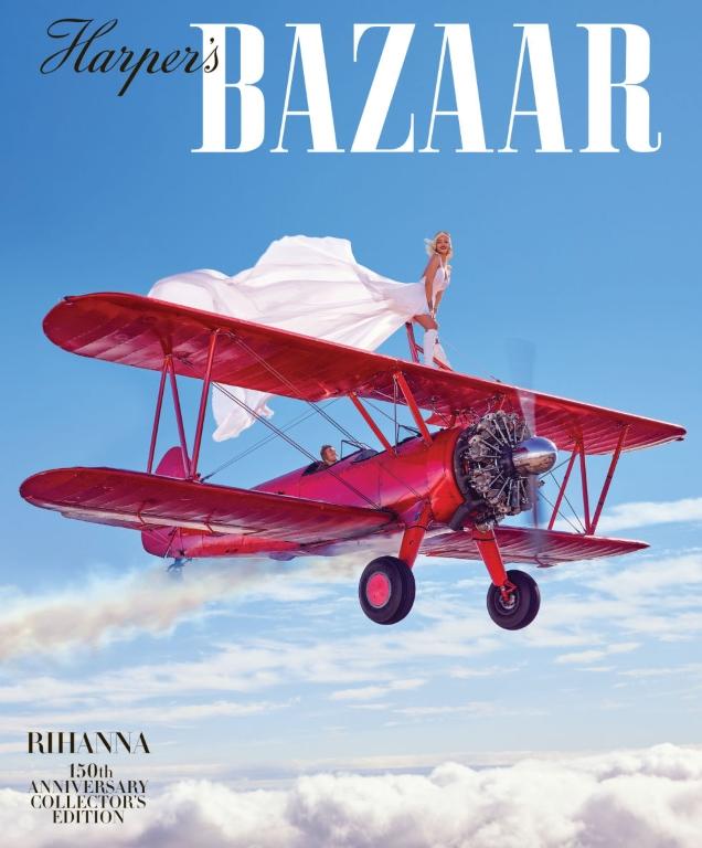 Harpers Bazaar for March