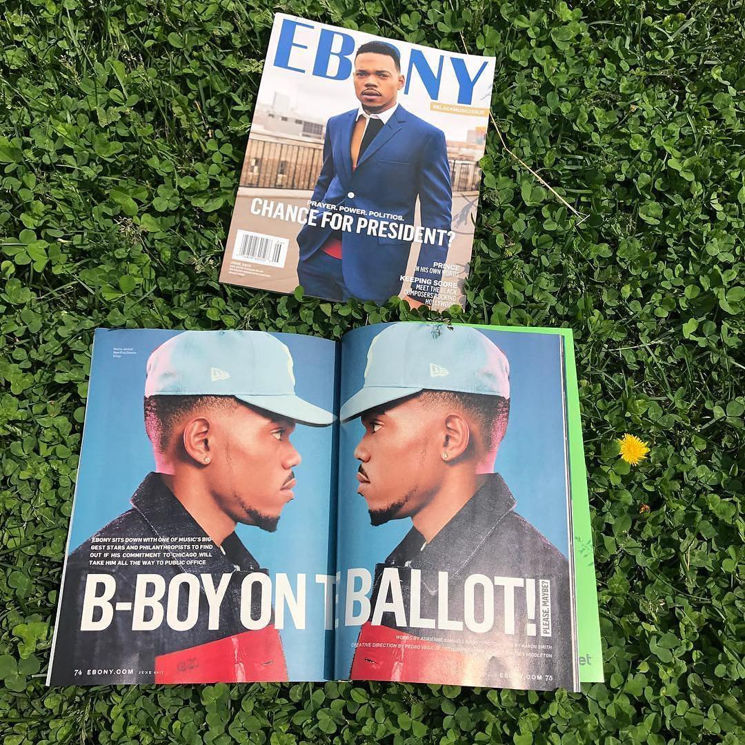 Ebony's June issue (Credit: @TheBullhorn__/Twitter)