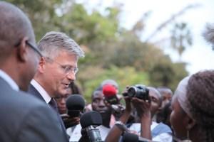 Jean-Pierre Lacroix, U.N. undersecretary general for peacekeeping operations, visits Kananga Kasai Central, Democratic Republic of the Congo. (Credit: MONUSCO/Bilaminou Alao)