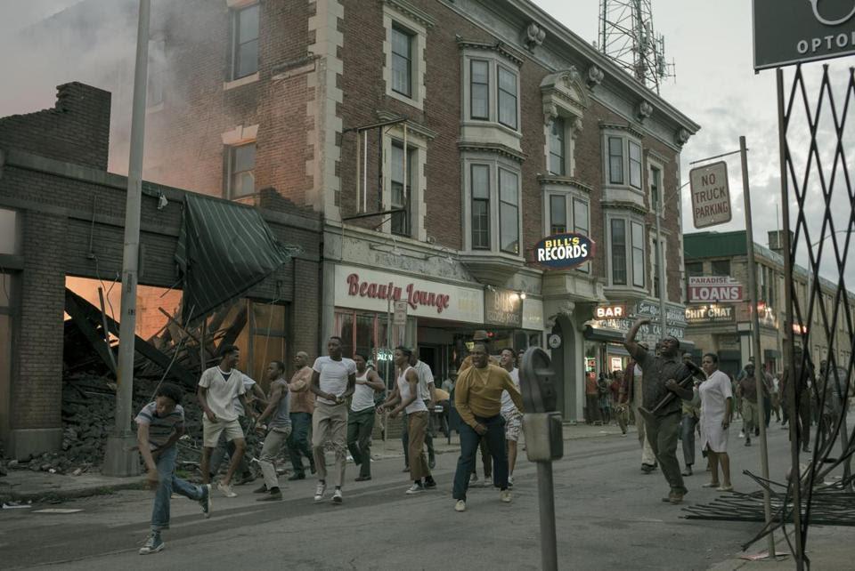 "A scene from ""Detroit.'' (Credit: Francois Duhamel/Annapurna Pictures) ''"