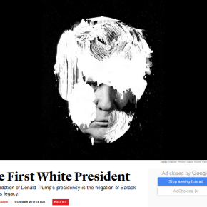 Coates Calls Out 'The First White President'