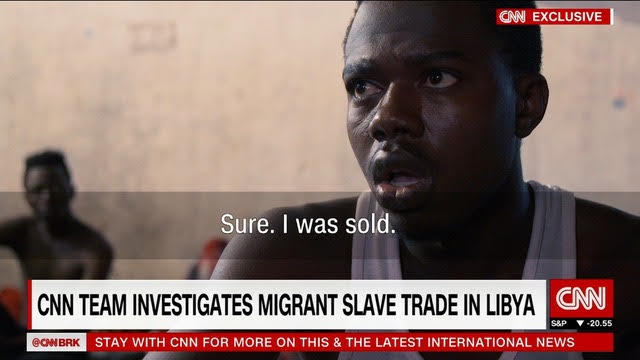 CNN's report on the slave trade