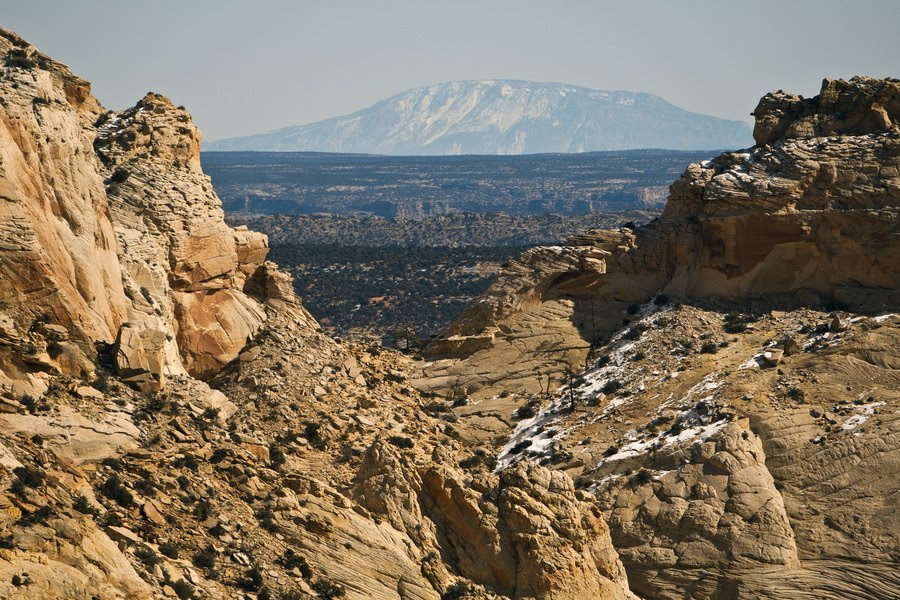 The view from Rock Springs Point along the west edge of the Grand Staircase-Escalante National Monument (Credit: Chris Detrick/Salt Lake Tribune)