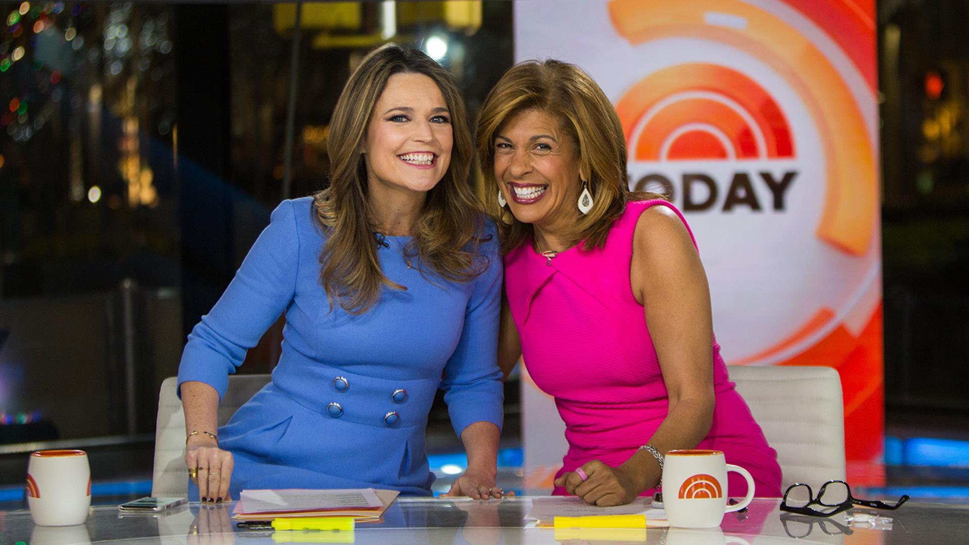 Savannah Guthrie, left, and Hoda Kotb (Credit: NBC News)