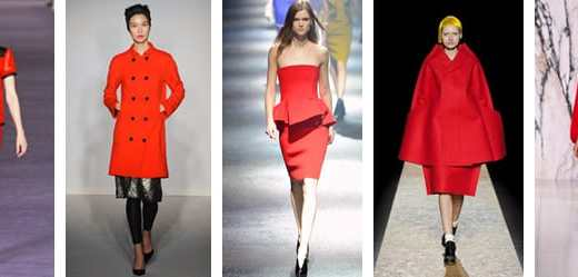 AW12 COLOUR TREND_RED