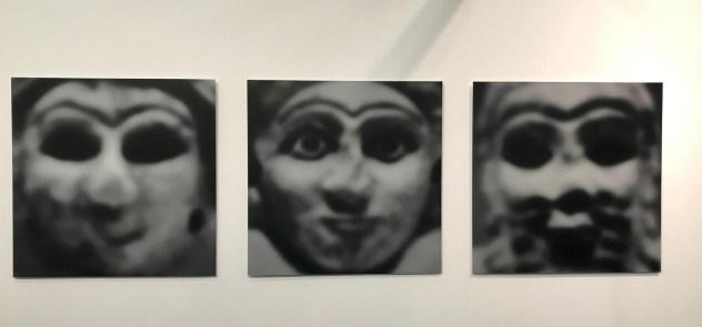 Halim Al Karim, Prisoner Goddess, 1999, Photograph Lambda Print (analog), Ed. 3+2AP, 124 x 372 cm (Triptych)