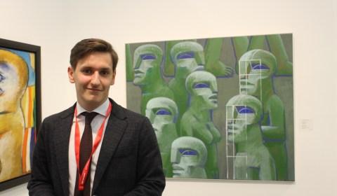 Lukas Minssen, Galerist