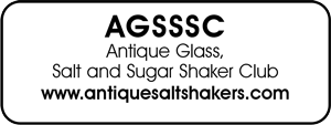Antique Glass, Salt and Sugar Shaker Club