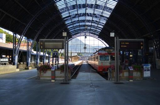 Вокзал в Бергене