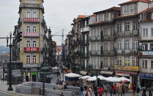 В Порту всегда многолюдно