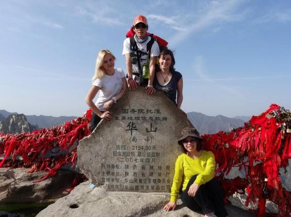 Мои попутчики по походам в горах Хуашань. Уже планируем новое путешествие. Теперь в Тибет. Кто с нами?