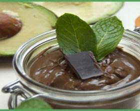 Raw Avocado Cacao Mousse f